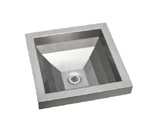 Elkay Asana EFL1616 Topmount Bathroom Stainless Steel Sink