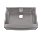Mazi EFS3021 Handmade Single Bowl Stainless Steel Farm Sink