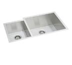 Elkay Avado EFU352010L Undermount Double Bowl Stainless Steel Sink