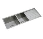 Elkay Avado EFU471810DB Undermount Double Bowl Stainless Steel Sink
