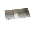 Elkay Avado EFULB331810CDB Undermount Double Bowl Stainless Steel Sink