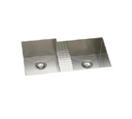 Elkay Avado EFULB361810CDBR Undermount Double Bowl Stainless Steel Sink