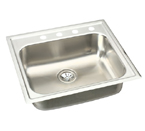 Elkay Elumina EG2522 Topmount Single Bowl Stainless Steel Sink