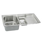 Elkay Harmony EGPI4322 Topmount Double Bowl Stainless Steel Sink