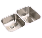 Elkay Elumina EGUH3120 Undermount Double Bowl Stainless Steel Sink