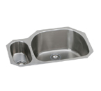 Elkay Harmony EGUH3221 Undermount Double Bowl Stainless Steel Sink