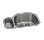 Elkay Harmony EGUH3221 Undermount Double Bowl Stainless Steel Sink