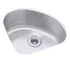 Elkay Mystic Lustertone ELU1111 Undermount Single Bowl Stainless Steel Sink