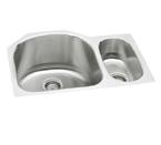 Elkay Harmony ELUH272010R Undermount Double Bowl Stainless Steel Sink