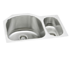 Elkay Harmony ELUHE272010R Double Bowl Stainless Steel Sink