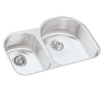 Elkay Harmony ELUHE3119 Undermount Double Bowl Stainless Steel Sink