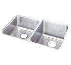 Elkay Gourmet ELUHE3121 Undermount Double Bowl Stainless Steel Sink