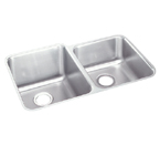 Elkay Lustertone ELUHAD3120 Undermount Double Bowl Stainless Steel Sink