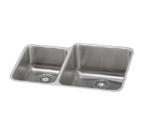 Elkay Gourmet ELUH3121 Undermount Double Bowl Stainless Steel Sink