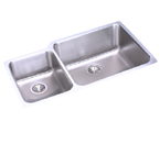 Elkay Gourmet ELUHE3520 Undermount Double Bowl Stainless Steel Sink