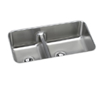 Elkay Gourmet ELUHAQD32179 Undermount Double Bowl Stainless Steel Sink
