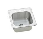 Elkay Elite ESE2020 Topmount Single Bowl Stainless Steel Sink