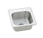 Elkay Elite ESE2020 Topmount Single Bowl Stainless Steel Sink