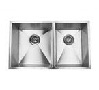 Suneli F3219BL Undermount Double Bowl Stainless Steel Sink