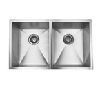 Suneli F3219D 18 Gauge Undermount Double Bowl Stainless Steel Sink