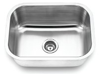 Fontaine Stainless Steel Single Bowl Undermount Kitchen Sink