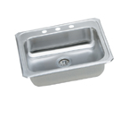 Elkay Celebrity GECR2521 Topmount Single Bowl Stainless Steel Sink