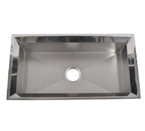 Mazi EKS3318 Handmade Undermount Single Bowl Stainless Steel Sink