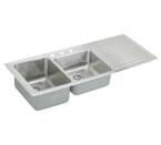 Elkay Gourmet Lustertone ILGR5422 Topmount Double Bowl Stainless Steel Sink