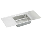 Elkay Lustertone ILR5422DD Topmount Single Bowl Stainless Steel Sink