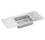 Elkay Lustertone ILR5422DD Topmount Single Bowl Stainless Steel Sink