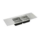 Elkay Lustertone ILR6622DD Topmount Double Bowl Stainless Steel Sink