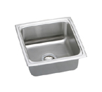 Elkay Lustertone LFR1717 Topmount Single Bowl Sink