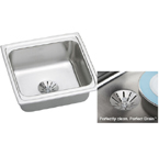 Elkay Perfect Drain LFR1918PD Topmount Single Bowl Stainless Steel Sink