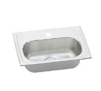 Elkay Lustertone LMR2013 Topmount Single Bowl Stainless Steel Sink
