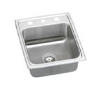 Elkay Lustertone LR1522 Topmount Single Bowl Stainless Steel Sink