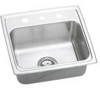 Elkay Lustertone 19x18 3 Hole Single Bowl Sink LR19183