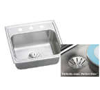 Elkay Perfect Drain LR1919PD Topmount Single Bowl Stainless Steel Sink