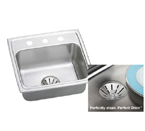 Elkay Perfect Drain LR2219PD Topmount Single Bowl Stainless Steel Sink