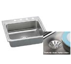 Elkay Perfect Drain LR2522PD Topmount Single Bowl Stainless Steel Sink