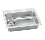 Elkay LWR2522 Topmount Single Bowl Stainless Steel Sink