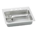 Elkay LWR2522 Topmount Single Bowl Stainless Steel Sink