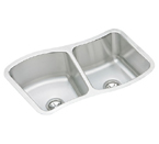 Elkay Mystic MYSTIC332110R Undermount Double Bowl Stainless Steel Sink