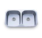 Pelican PL-802 18 Gauge Double Bowl Stainless Steel Sink