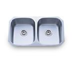 Pelican PL-802 18 Gauge Double Bowl Stainless Steel Sink