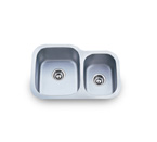 Pelican PL-803 18 Gauge Double Bowl Stainless Steel Sink