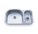 Pelican PL-805 18 Gauge Double Bowl Stainless Steel Sink