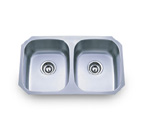 Pelican PL-806 18 Gauge Double Bowl Stainless Steel Sink