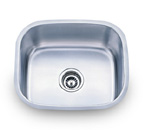 Pelican PL-860 18 Gauge Single Bowl Stainless Steel Sink
