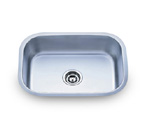 Pelican PL-862 16 Gauge Single Bowl Stainless Steel Sink