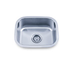 Pelican PL-864 18 Gauge Single Bowl Stainless Steel Sink
